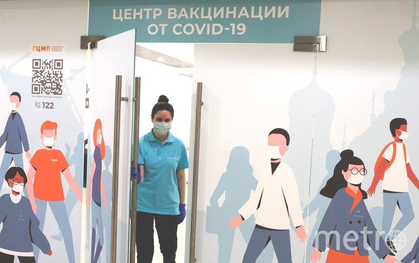 """В Петербурге работают 129 прививочных пунктов. Фото Алёна Бобрович, """"Metro"""""""