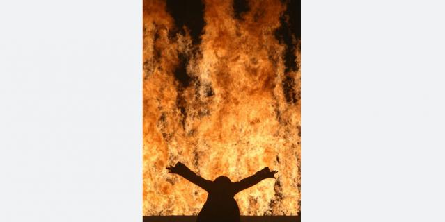 """""""Огненная женщина""""."""