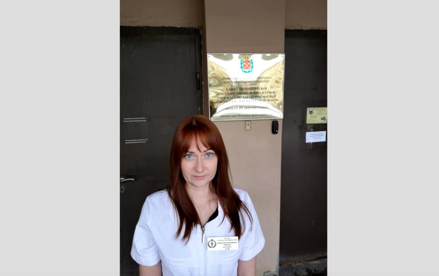 Дарья Гришина заболела в самом начале пандемии, а потом почти год работала в красной зоне. Фото госпиталь для ветеранов войн