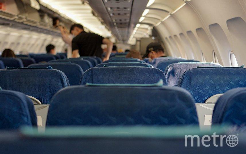 Бортпроводники и другие пассажиры ограничили нарушительницу в передвижении. Фото pixabay.com