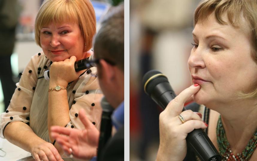 Татьяна Полякова. Фото https://eksmo.ru/
