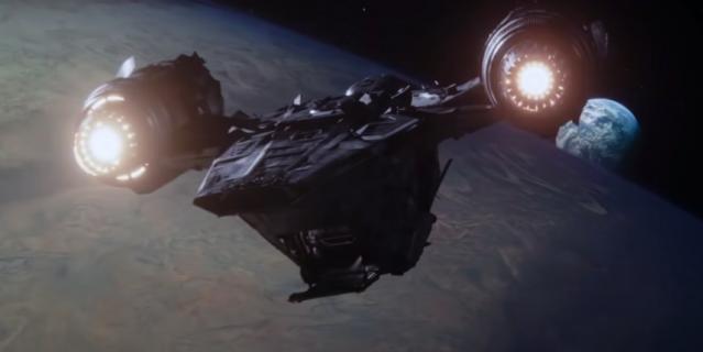 Оригинальный корабль из сериала.