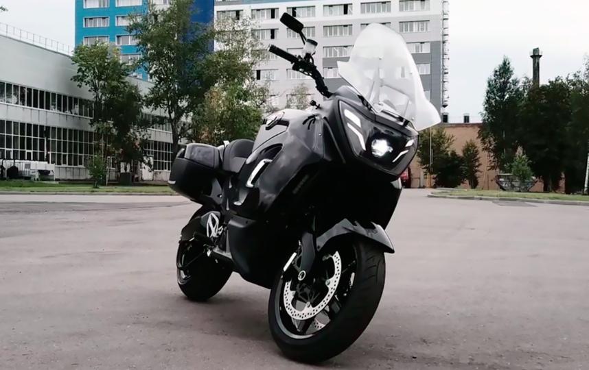 Электрический мотоцикл Aurus. Фото Скриншот Instagram: @minpromtorg