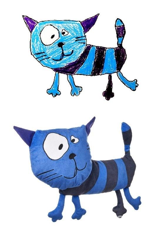 """Игрушка """"кот"""". Фото IKEA"""
