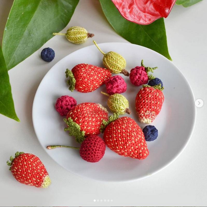 """Мастер """"готовит""""продукты: макароны, рыбу, мясо, фрукты, овощи – да все что угодно. Фото instagram.com@pelyushenko_craft"""