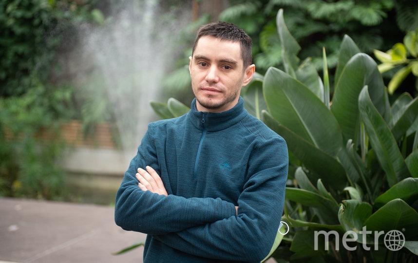 Ринат Мигранов – главный агроном оранжереи Таврического сада. Фото Святослав Акимов.