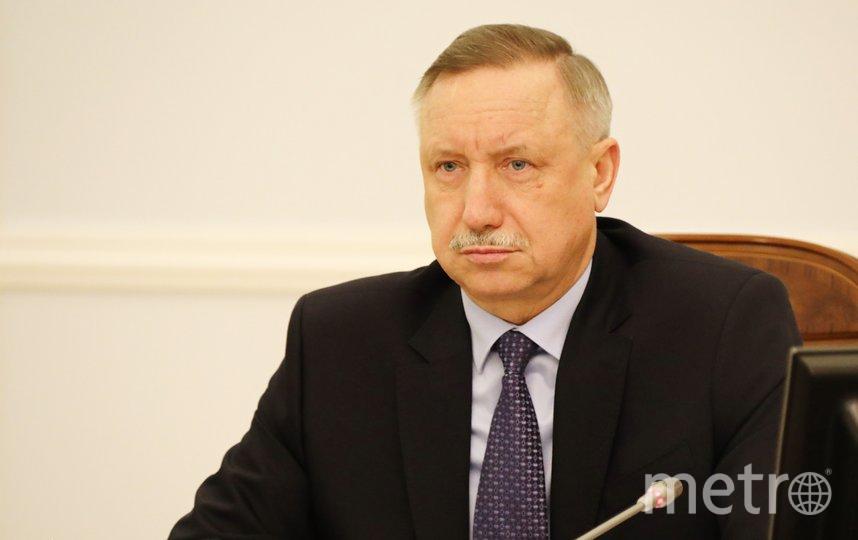 Губернатор Петербурга Александр Беглов. Фото gov.spb.ru