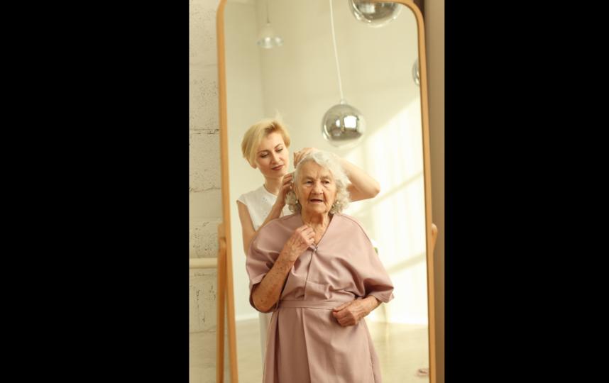 В Европе пожилые модели очень популярны. Фото из личного архива