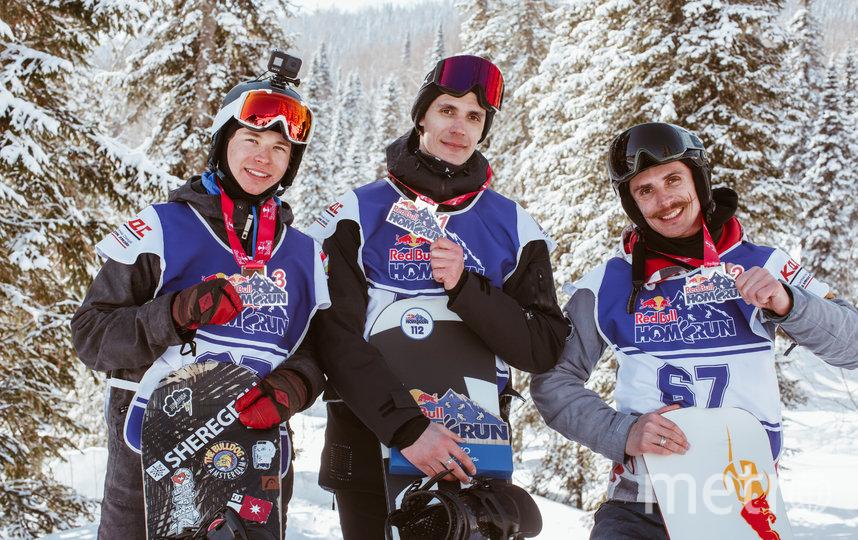 Лучший результат у сноубордистов показали братья Андрей и Степан Анисимовы из Таштагола, причём младший опередил старшего.. Фото redbullcontentpool