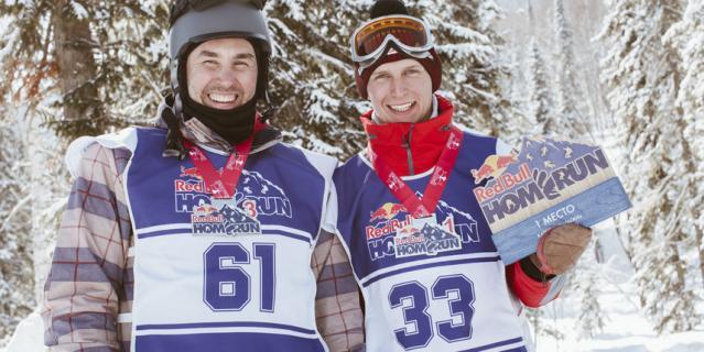 Самым быстрым из всех стал местный лыжник Павел Матвеев.