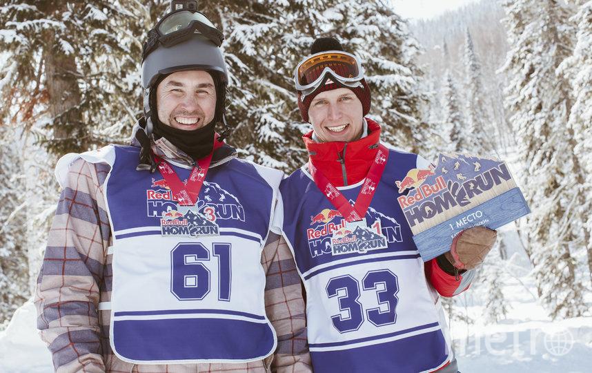 Самым быстрым из всех стал местный лыжник Павел Матвеев. Фото redbullcontentpool