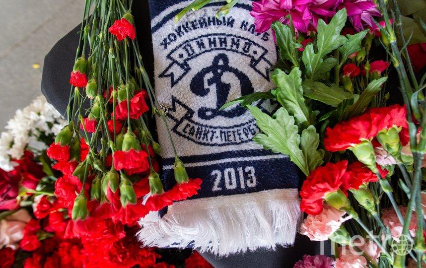 """В Петербурге появился мемориал в память о погибшем 19-летнем хоккеисте. Фото Святослав Акимов., """"Metro"""""""