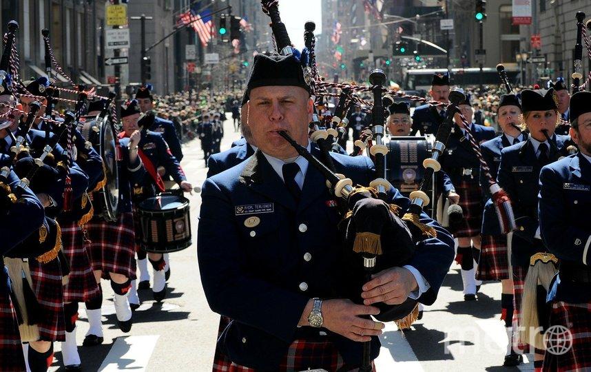 Оркестр волынщиков в Нью-Йорке. Фото pixabay