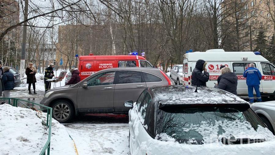 Место происшествия. Фото МЧС РФ/50.mchs.gov.ru.