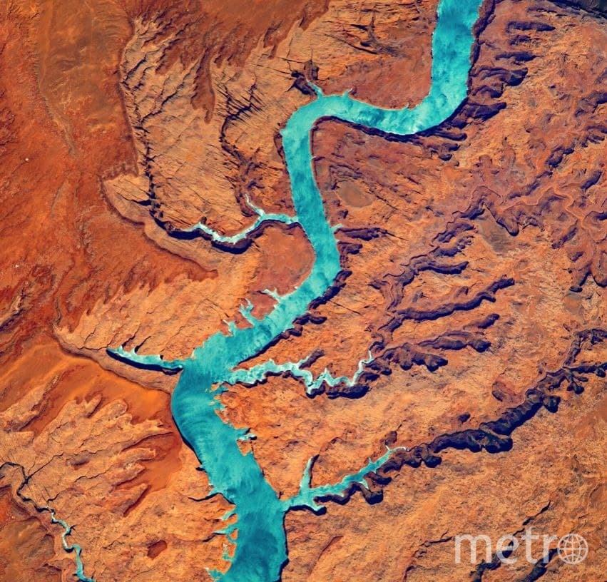 Река Колорадо, США. Фото предоставлены пресс-службой московского планетария.
