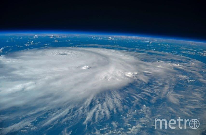 Ураган «Ирма» над Атлантическим океаном. Фото предоставлены пресс-службой московского планетария.