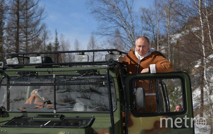 Поездка в Сибирский федеральный округ. Фото kremlin.ru.