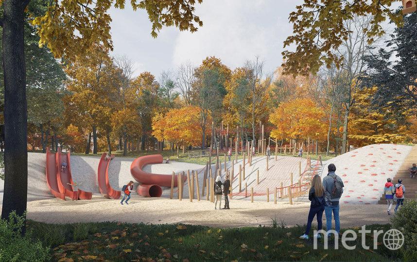 """В будущем парке """"Яуза"""" будут созданы три новые игровые зоны. Фото www.sobyanin.ru"""