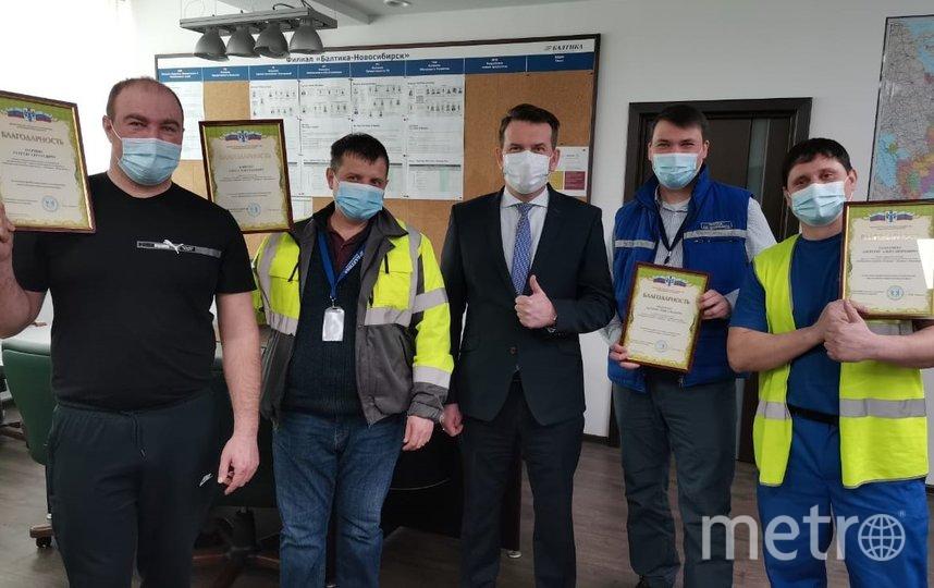 Сотрудники Балтики в Новосибирске отмечены благодарностями минсельхоза области.