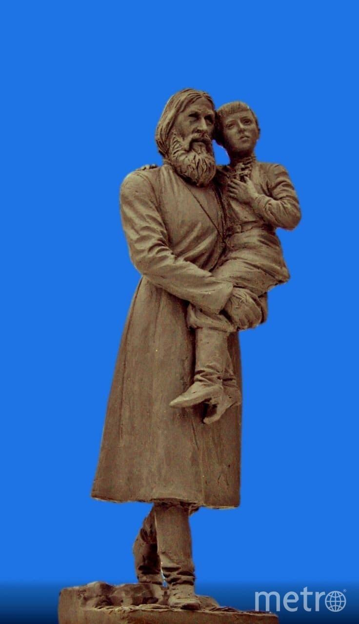 В Петербурге хотят установить памятник Распутину. Фото ООО РНТМ АРТПРОЕКТ.