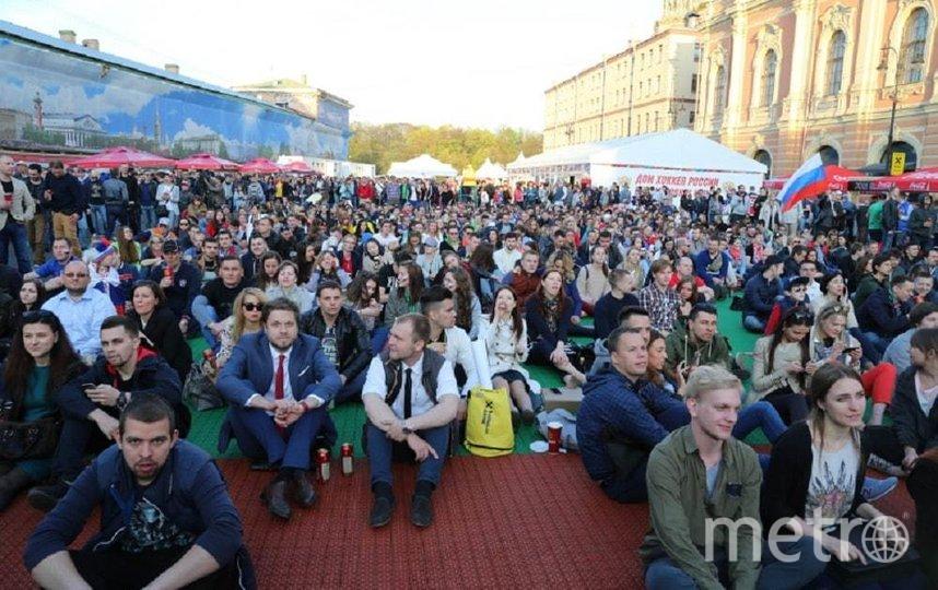 В Петербурге к Евро-2020 могут организовать еще одну фан-зону. Фото gov.spb.ru.