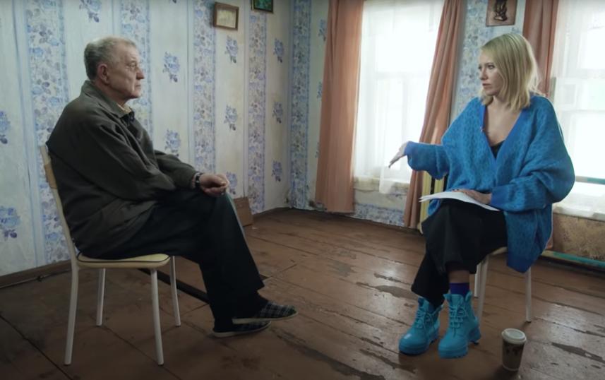 Интервью Ксении Собчак и Виктора Мохова. Фото Скриншот Youtube: https://www.youtube.com/watch?v=DDFCtXuRt00