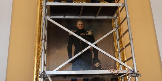 """До 10 марта экспонаты находились на выставке в московском музее-заповеднике """"Царицыно""""."""