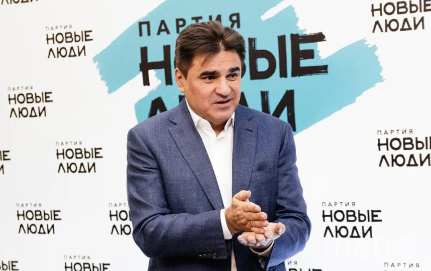 """Лидер партии """"Новые люди"""" Алексей Нечаев."""