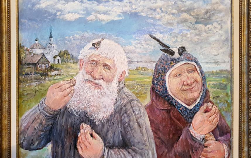 """""""Хлебом кормить небо"""". Фото Леонид Баранов"""