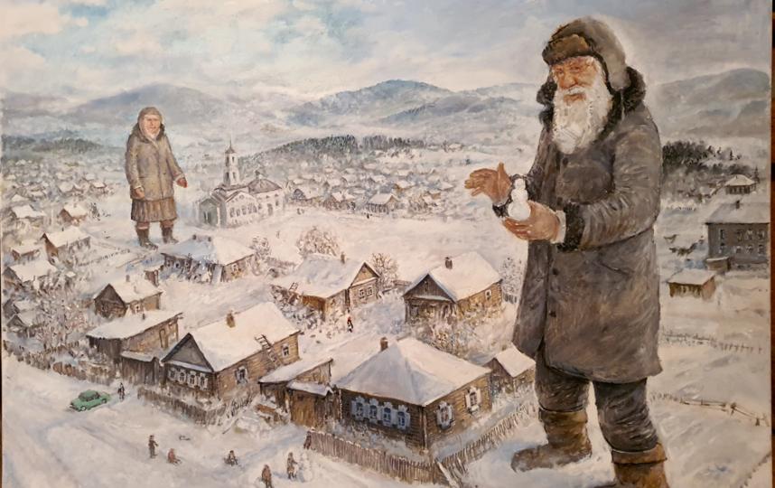 """Тёплая зима"". Фото Леонид Баранов"
