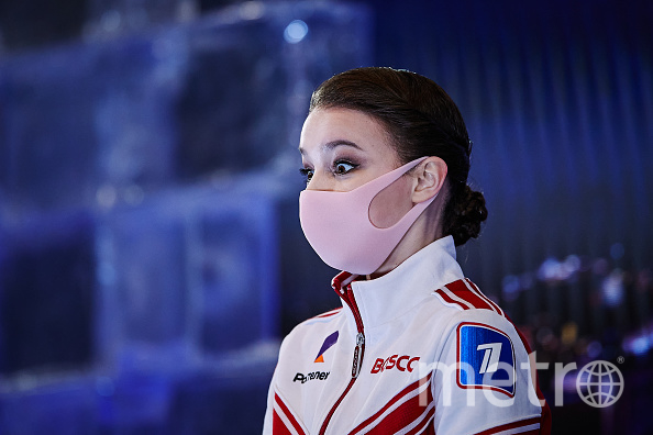 Российские фигуристки впервые в истории заняли весь пьедестал на ЧМ. Фото Getty.