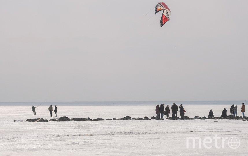 """Утонуть в этом месте невозможно, но уйти по колено в воду - реально. Фото Алена Бобрович, """"Metro"""""""