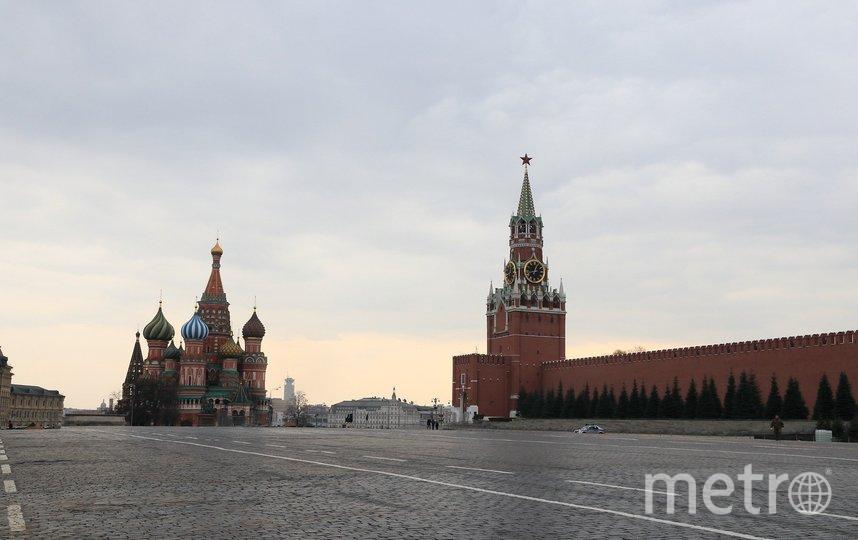 Пустые улицы Москвы во время пандемии. Фото pixabay.com