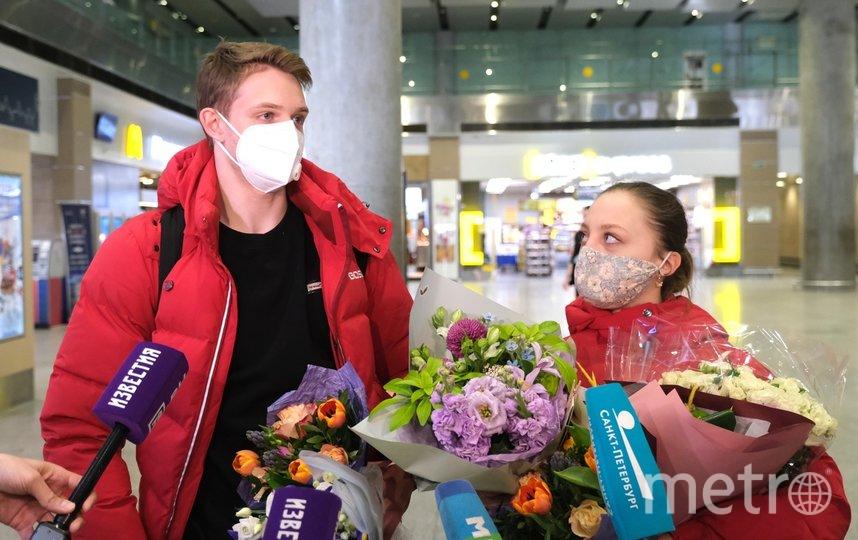 "Александра Бойкова и Дмитрий Козловский. Фото Алена Бобрович, ""Metro"""