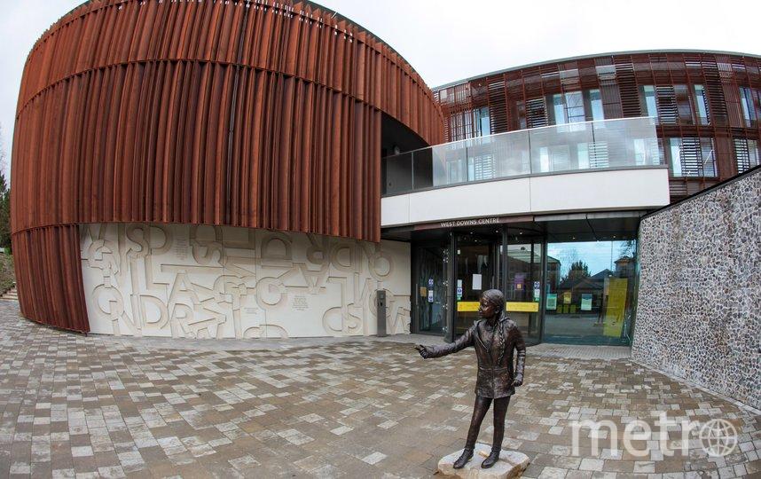 Памятник шведской активисте установили почти за 24 тысяч фунтов. Фото Скриншот Twitter: @CapitalSCNews