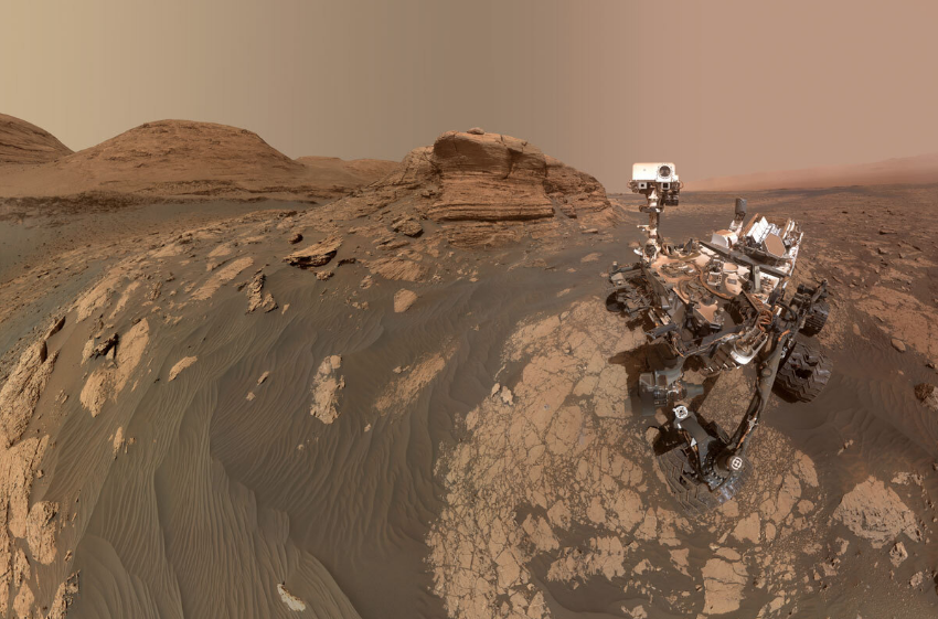 Ровер Curiosity. Фото NASA