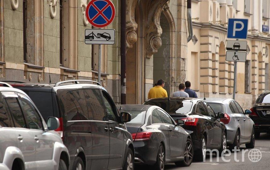 """Изменения в движении освободят 252 дополнительных парковочных места. Фото агентство """"Москва"""""""