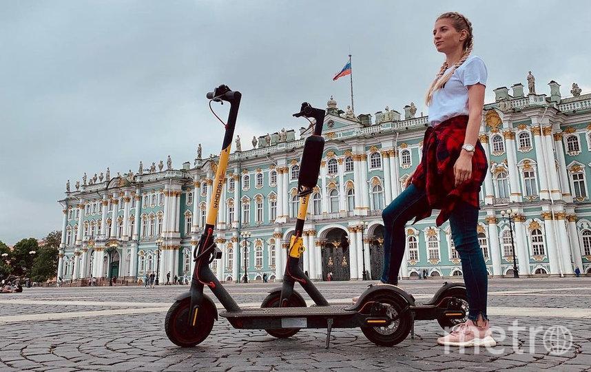 Самокаты – модный транспорт для фотографий. Фото Instagram @kirichenkomariy