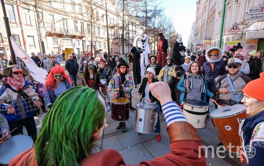 1 апреля стартовал «Смешной фестиваль». Фото Святослав Акимов.