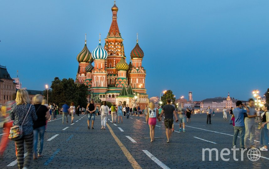 Москва - номинирована в туризме. Фото pixabay
