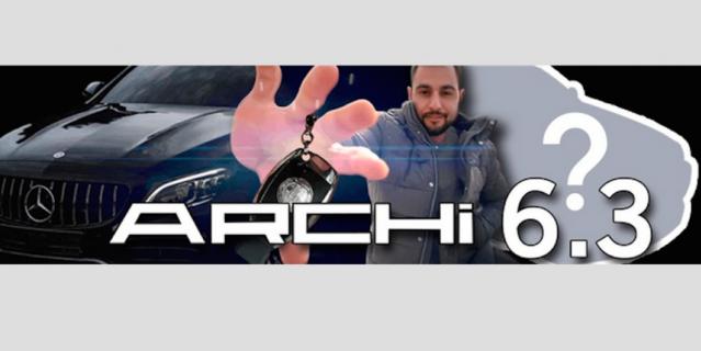 "Скриншот YuoTube-канала ""Archi6.3""."