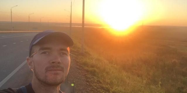 За 100 км до Иркутска. Михайловка.