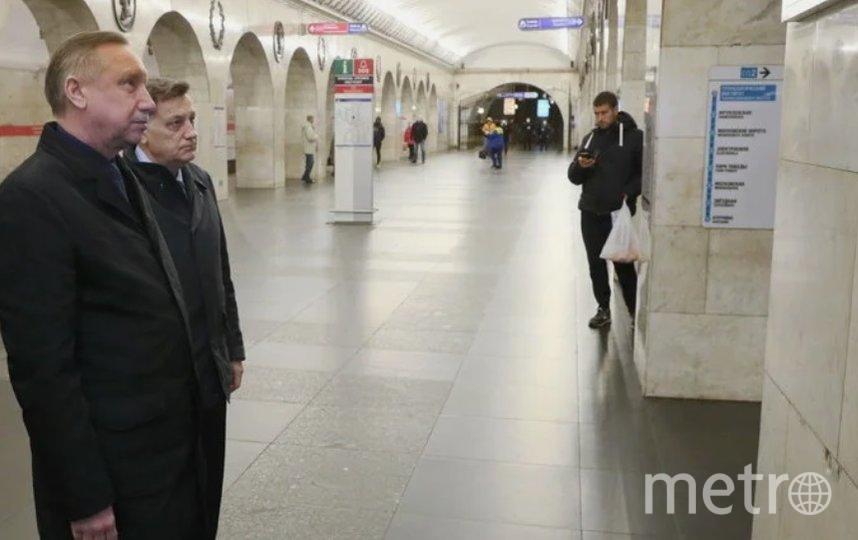 Губернатор Александр Беглов и председатель Законодательного Собрания Вячеслав Макаров. Фото gov.spb.ru.