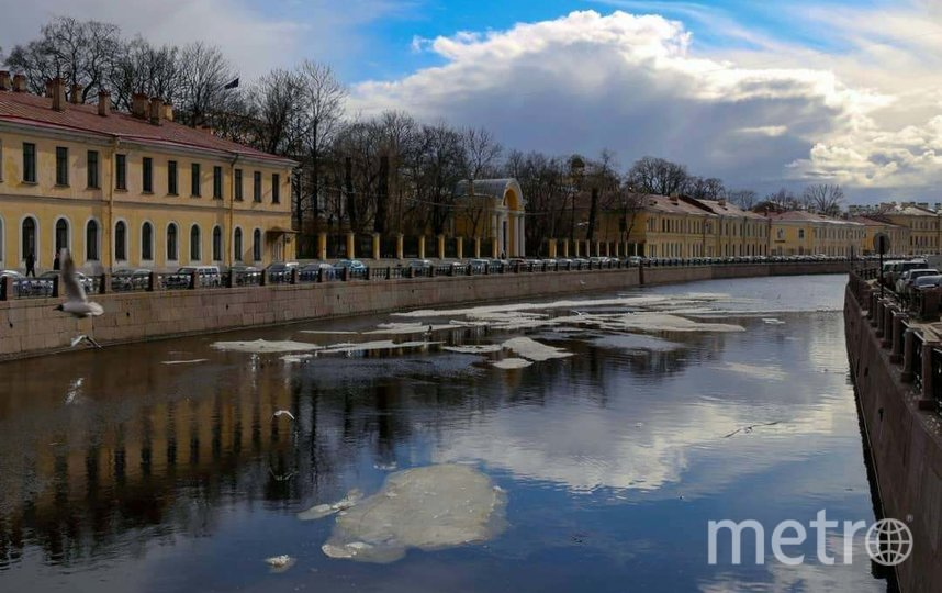 К Северной столице приближается теплый фронт. Фото instagram/khvostenkog.