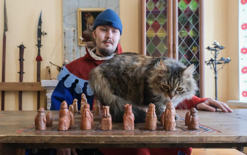 """Когда грациозная Дульсинея играет в шахматы, ни одна фигура не падает с доски. Фото Алена Бобрович, """"Metro"""""""