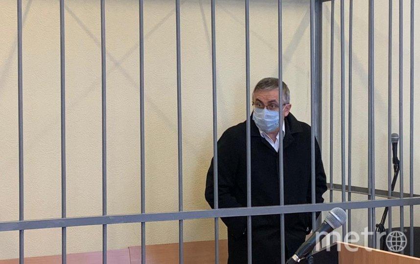 Александр Земченков в зале суда. Фото Объединенная пресс-служба судов Санкт-Петербурга