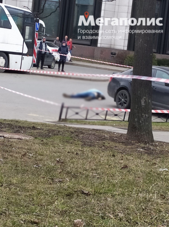 Инцидент произошел возле гостиницы в Петербурге. Фото https://megapolisonline.ru/