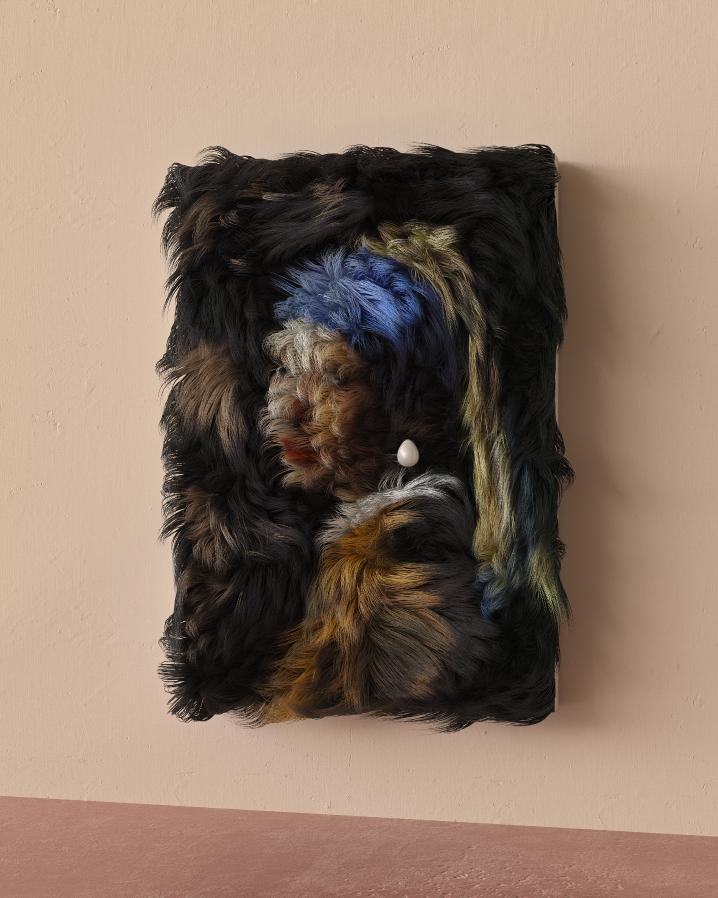 """Оригинал: """"Девушка с жемчужной серёжкой"""" Яна Вермеера. Фото предоставлено Муратом Йылдырымом"""
