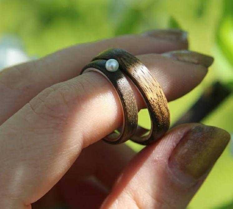 Каждое кольцо уникально. Фото instagram.com@ttolwood