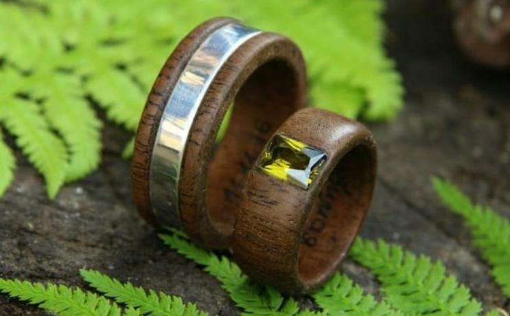 Основные заказчики – это супружеские пары, которые присматривают кольца на пятую годовщину свадьбы. Фото instagram.com@ttolwood